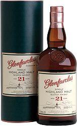 Glenfarclas 21 ročná 43% 0,7l