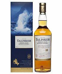 Talisker Single Malt Whisky 18Y + GB 0,7 l (45,8%)