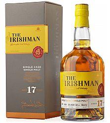The Irishman Single Malt 17 ročná 56% 0,7l